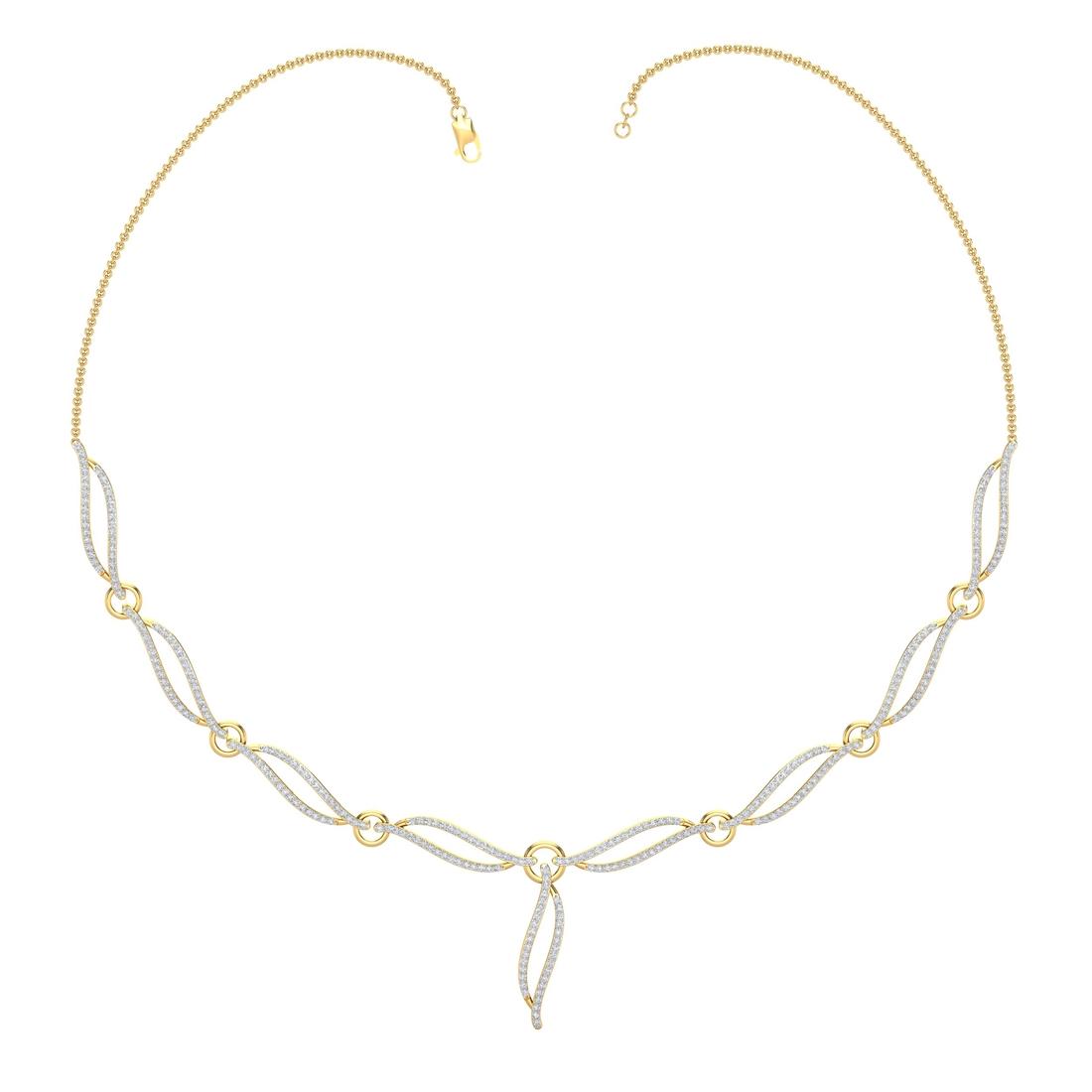 Arkina Diamond's Amada Diamond Necklace