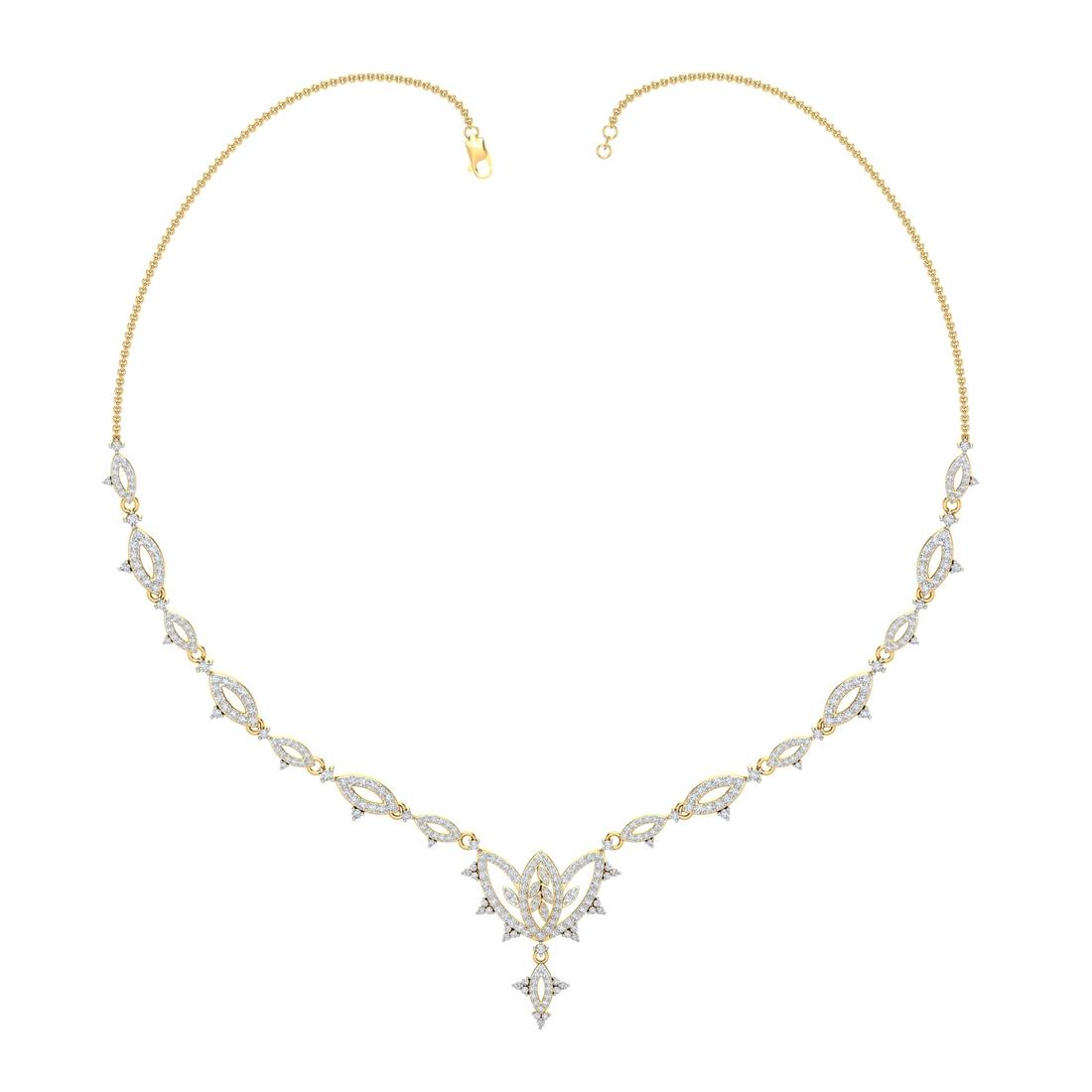 Arkina Diamond's Splendid Spokes Necklace