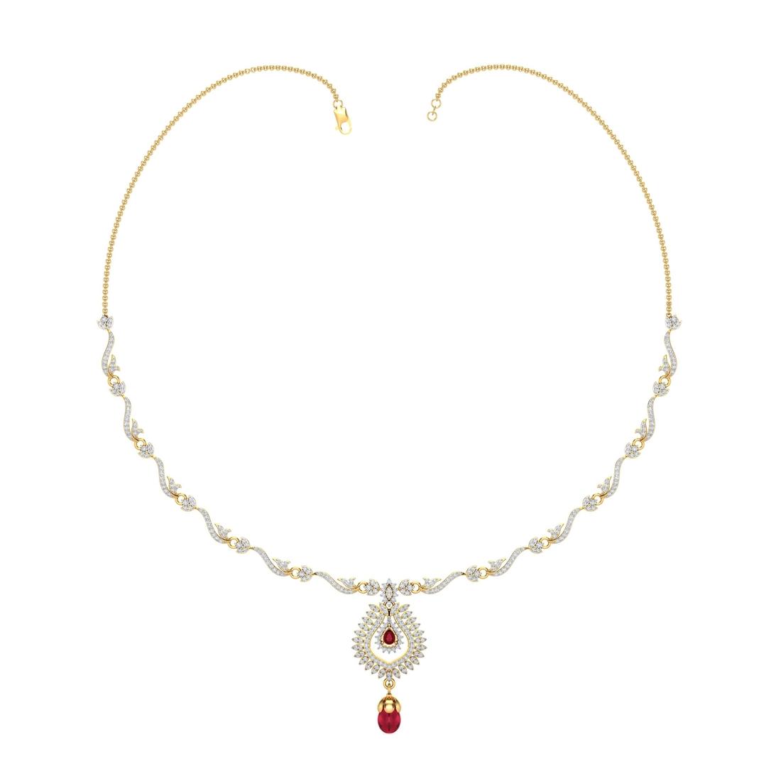 Arkina Diamond's Ruby Heritage Necklace
