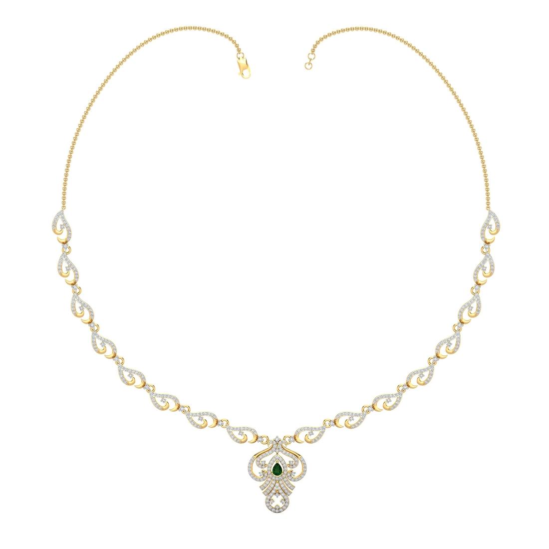 Arkina Diamond's Dazzling ruby necklace