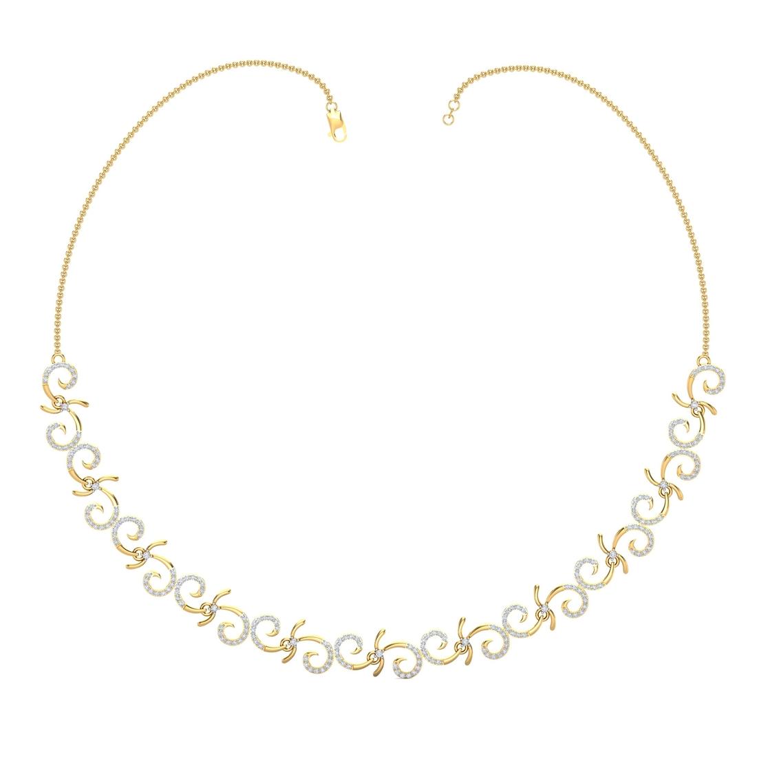 Arkina Diamond's Dazzle Spins Necklace