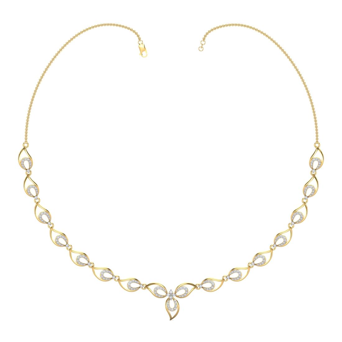 Arkina Diamond's Panache Petal Necklace