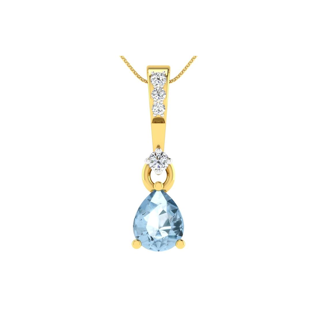 Arkina Diamond's Bluestone pendent