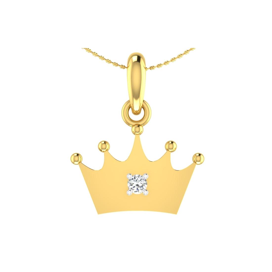 Arkina Diamond's Royal Crown pendent