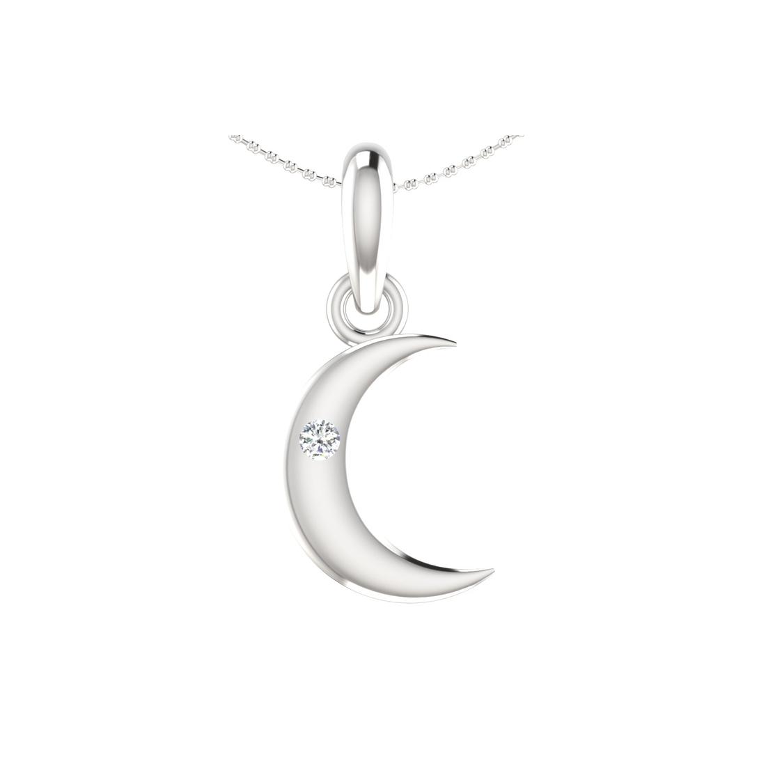 Arkina Diamond's Bright Moon pendent