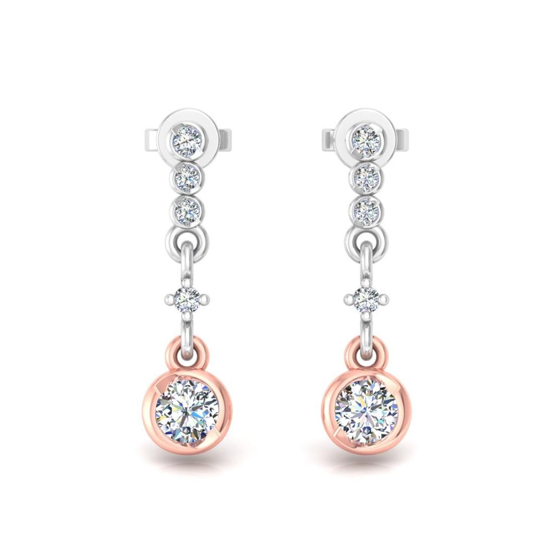 Designer mix earrings