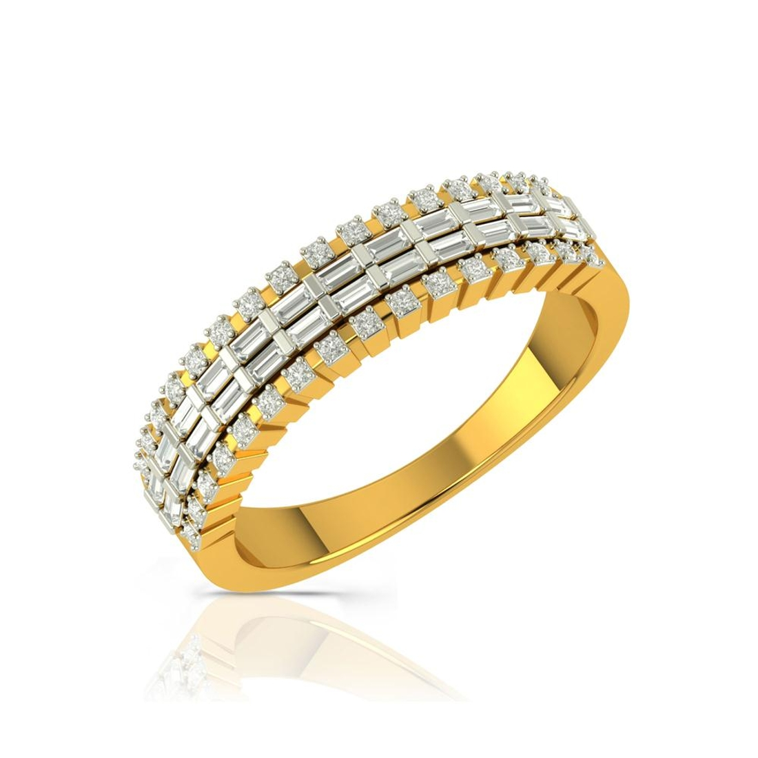 Buy Charu Jewels Diamond Ladies Ring CJLR0315 Online in India