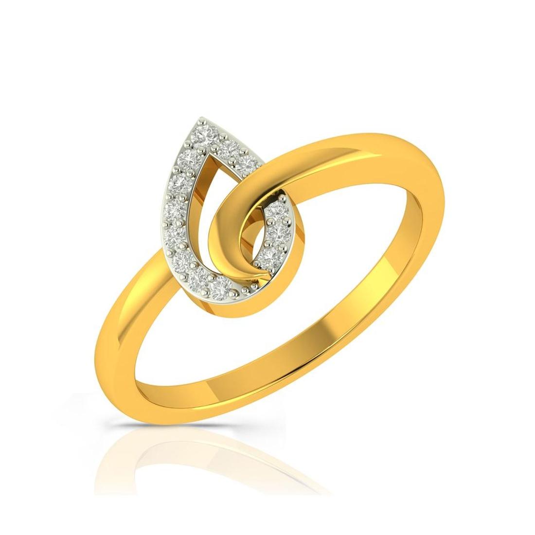 Buy Charu Jewels Diamond Ladies Ring CJLR0362 Online in India