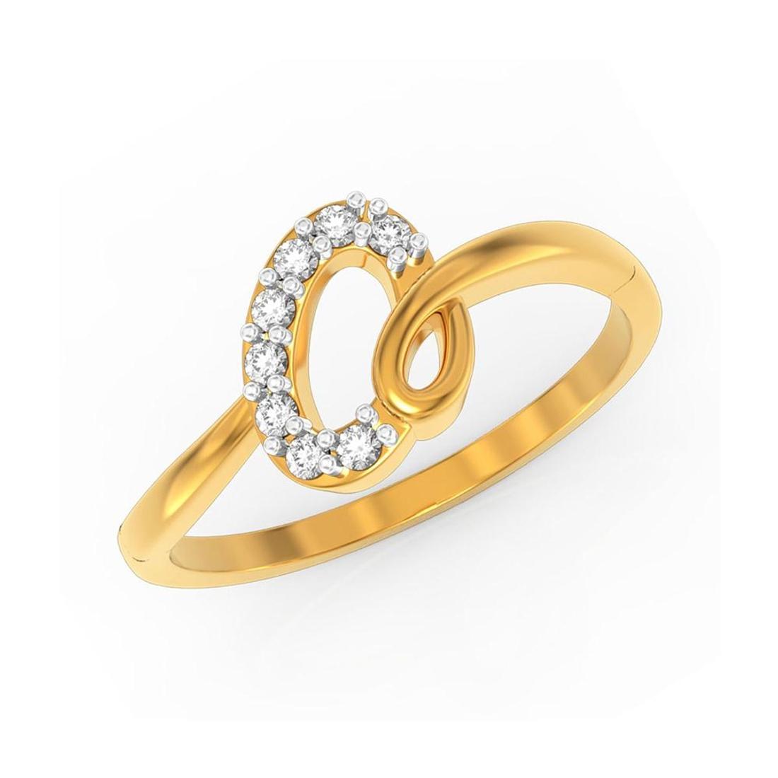 Buy Charu Jewels Diamond Ladies Ring CJLR0384 Online in India
