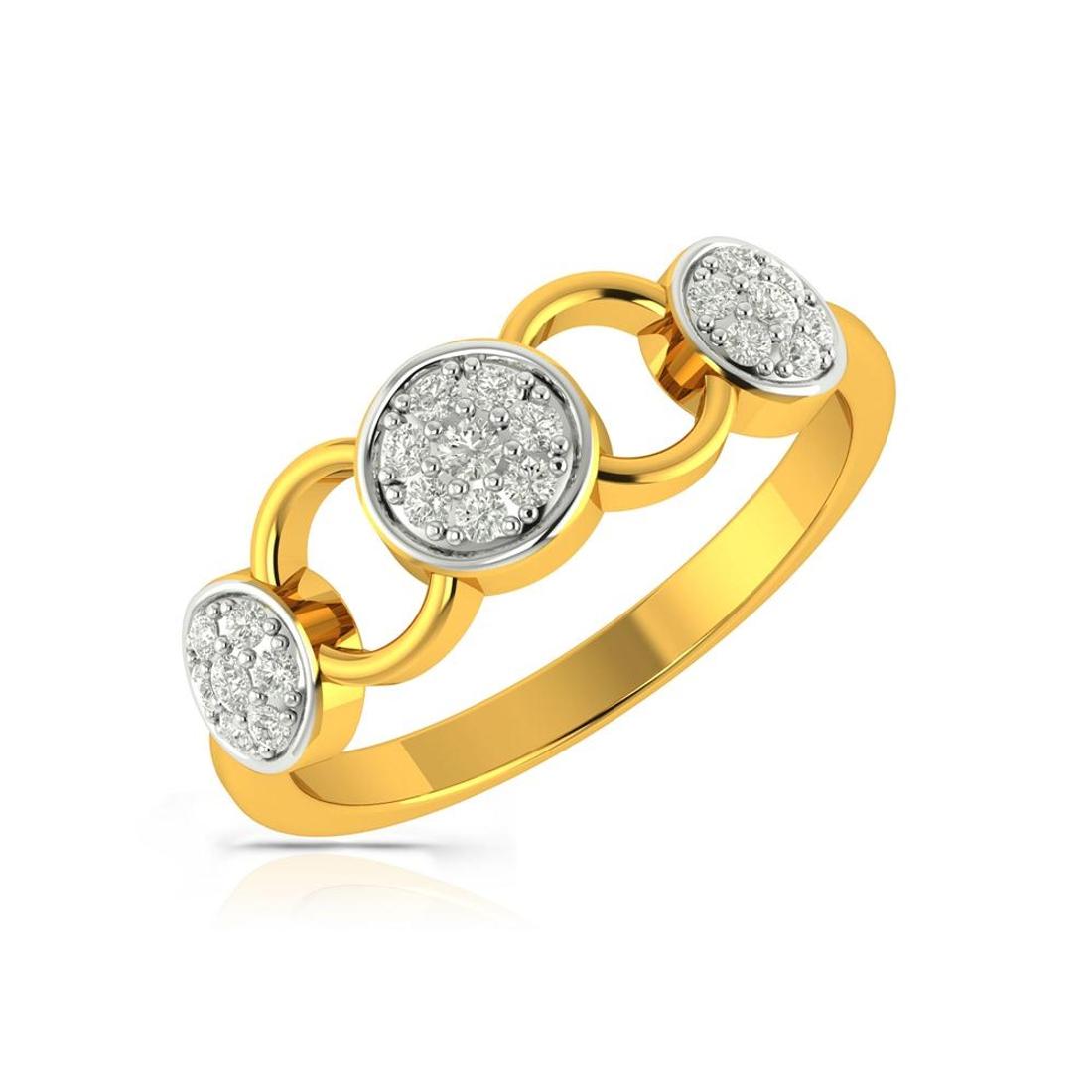 Buy Charu Jewels Diamond Ladies Ring CJLR0449 Online in India