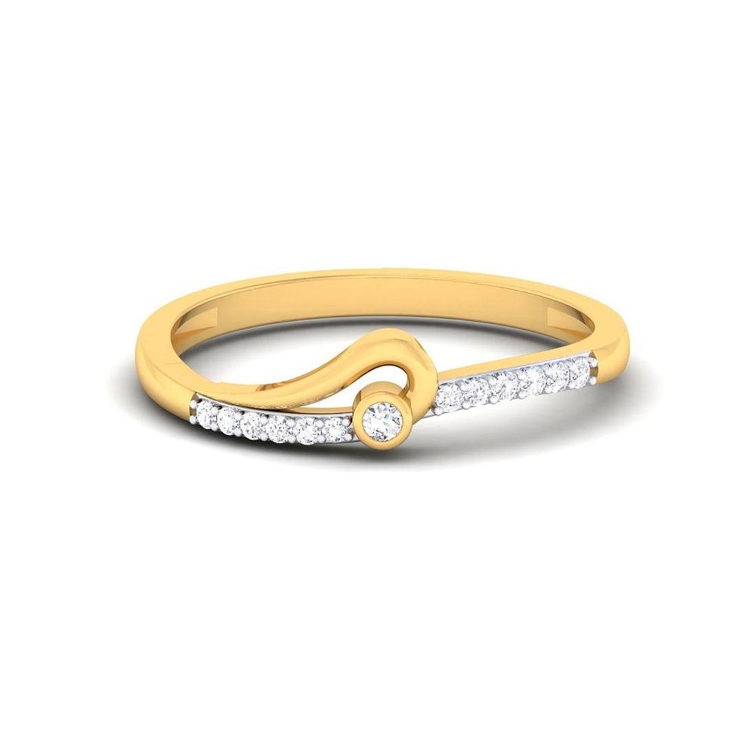 Buy Charu Jewels Diamond Ladies Ring CJLR0831 Online in India
