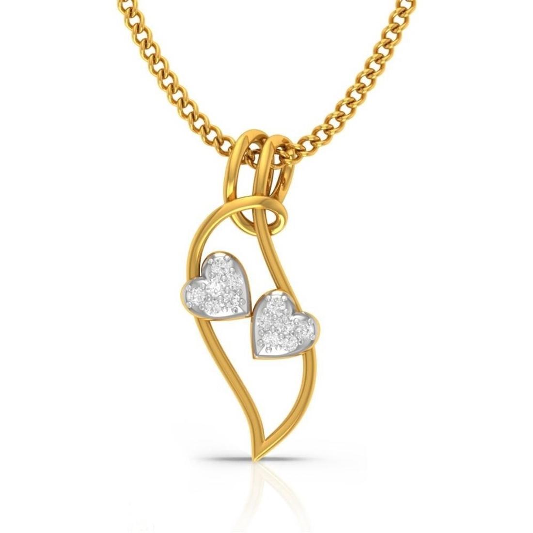 Gleesome Diamond Pendant  CJSP0215