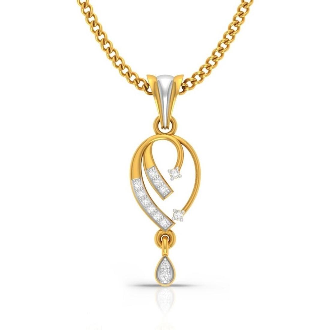Fairy Tales Diamond Pendant  CJSP0217
