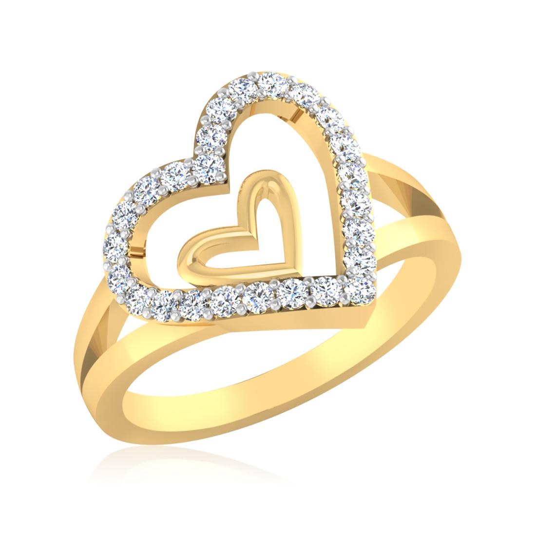 Iski Uski Promise Heart Ring