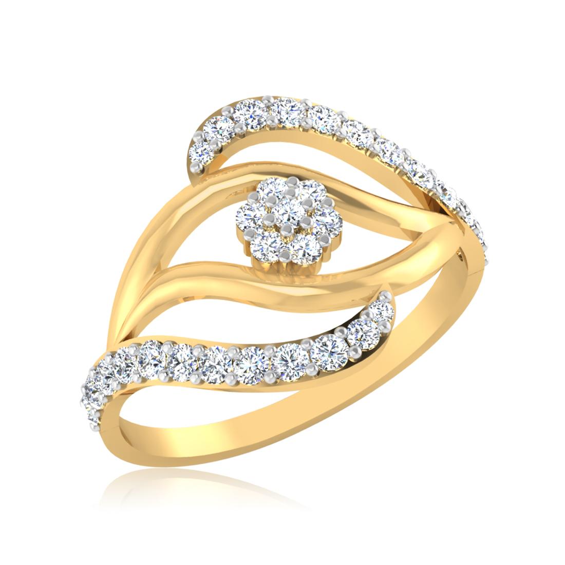 Iski Uski Floral Ring