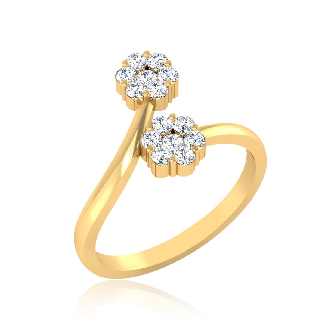 Iski Uski Lovely Floral Ring