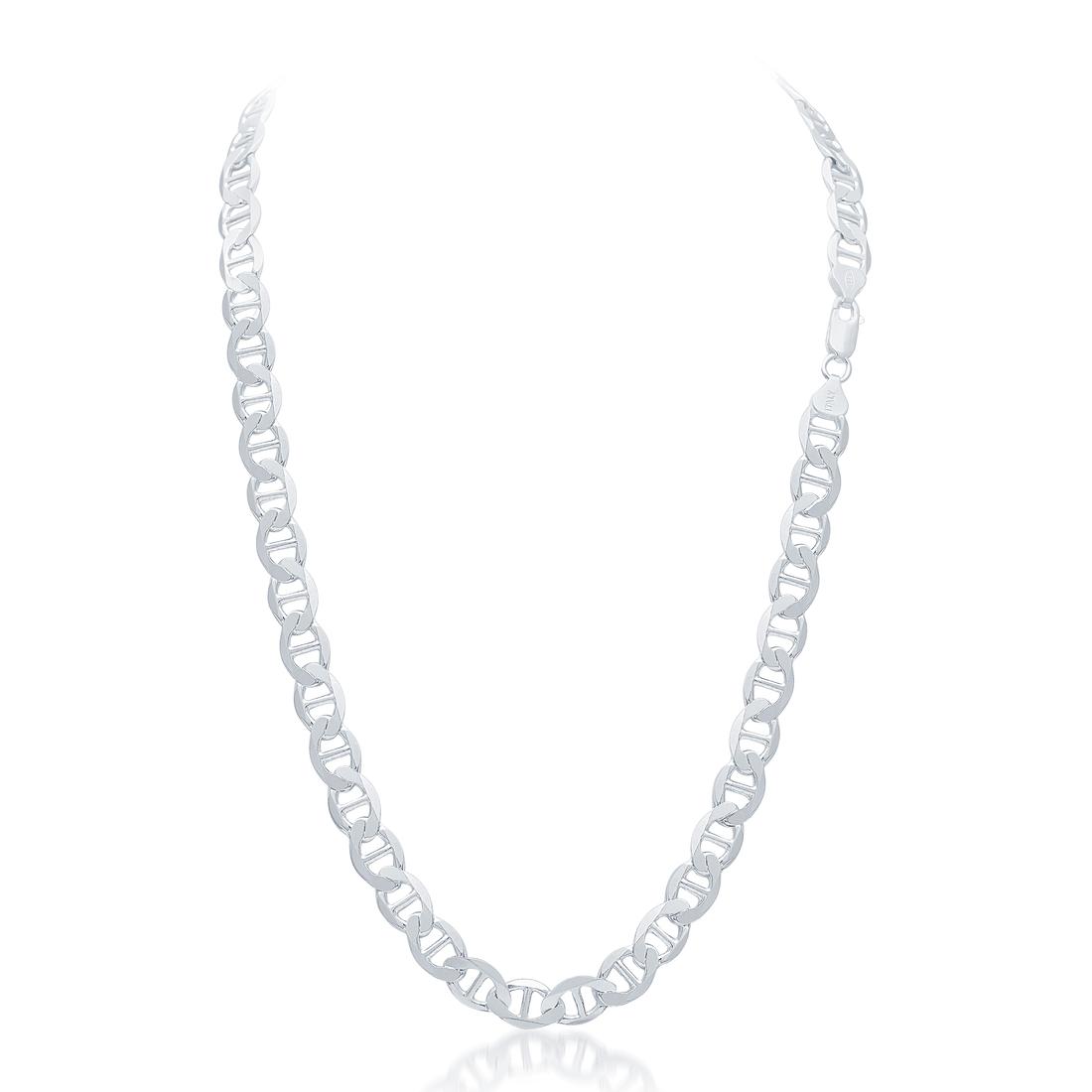 Karatcraft Silver Anchor Chain