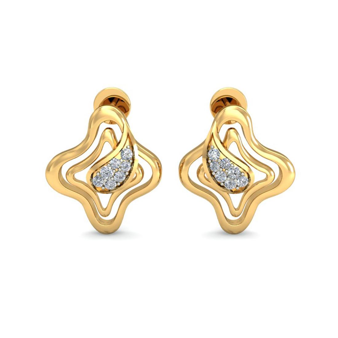 Ornomart's rising star Earrings