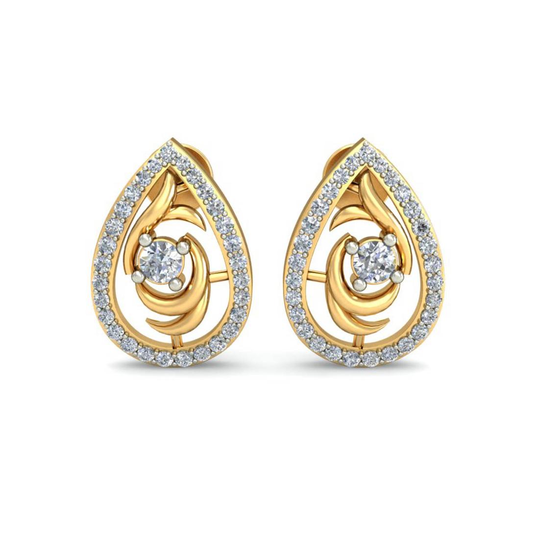Ornomart's love drop Earrings