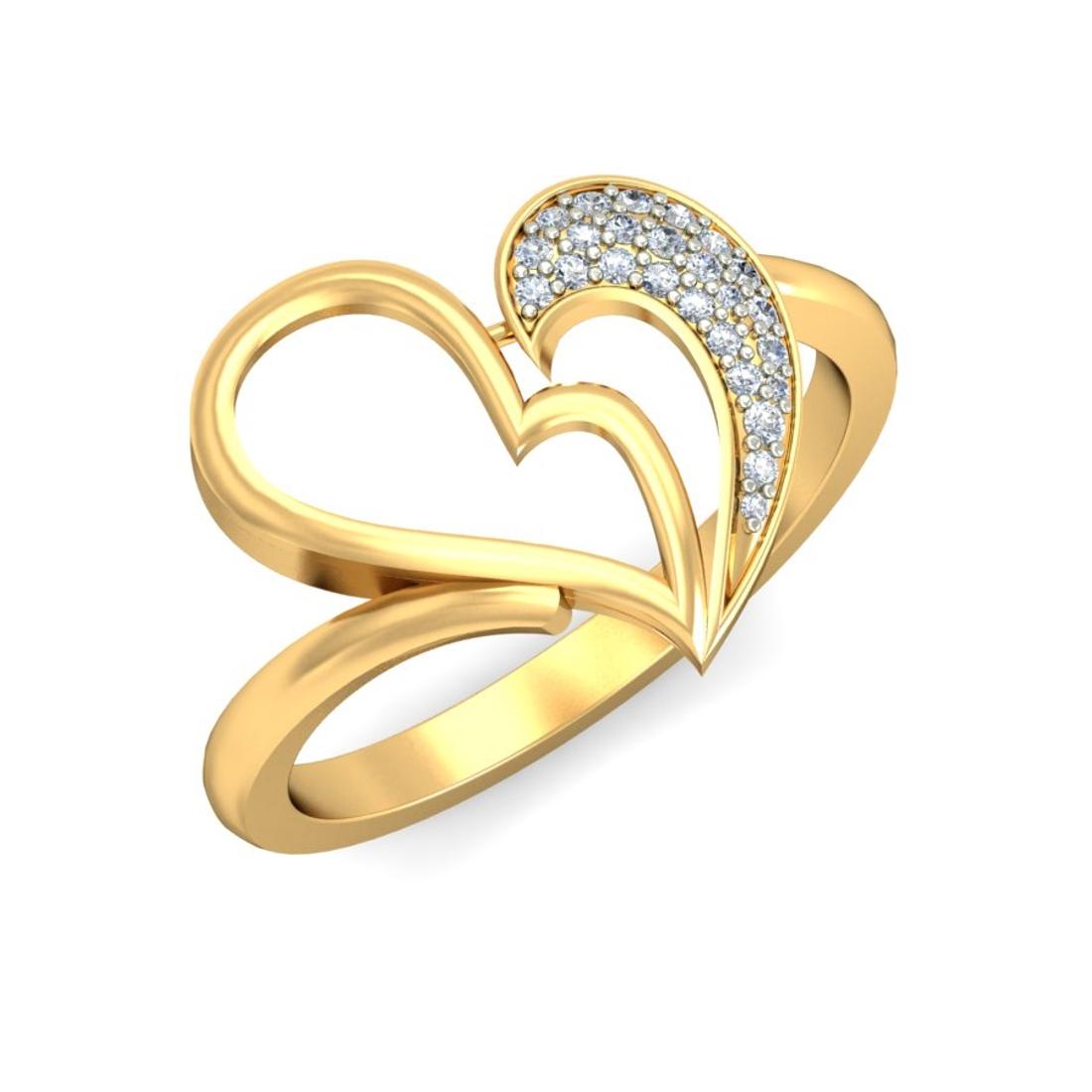Ornomart's heart shaped Ring