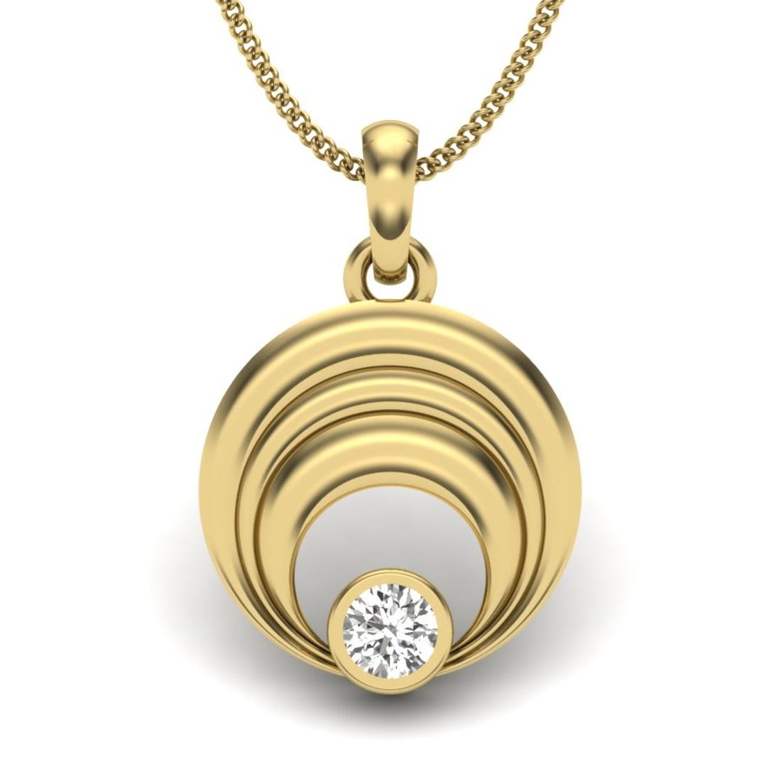 Riya Solitaire diamonds Pendant