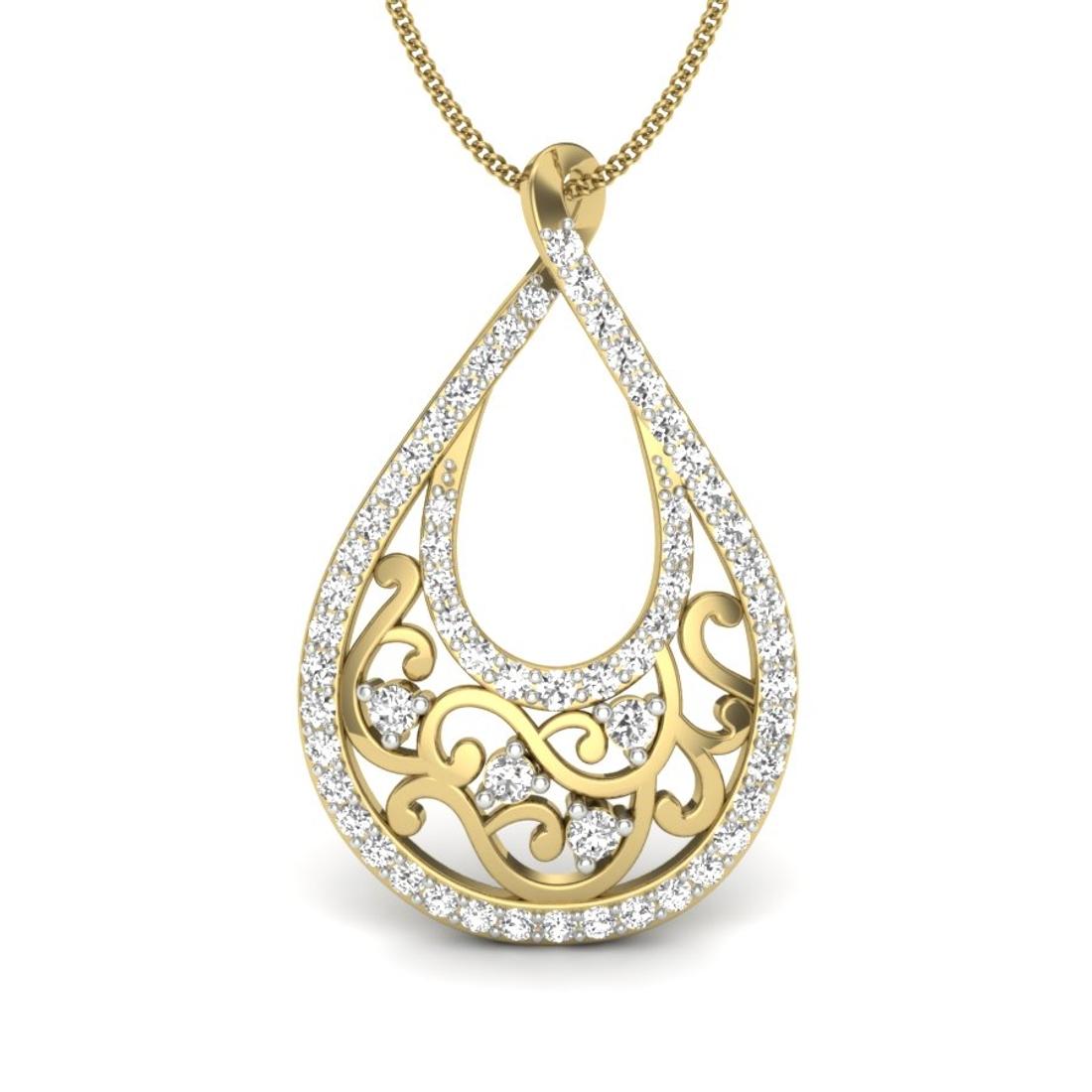 Monalisa Natural Diamonds Pendant