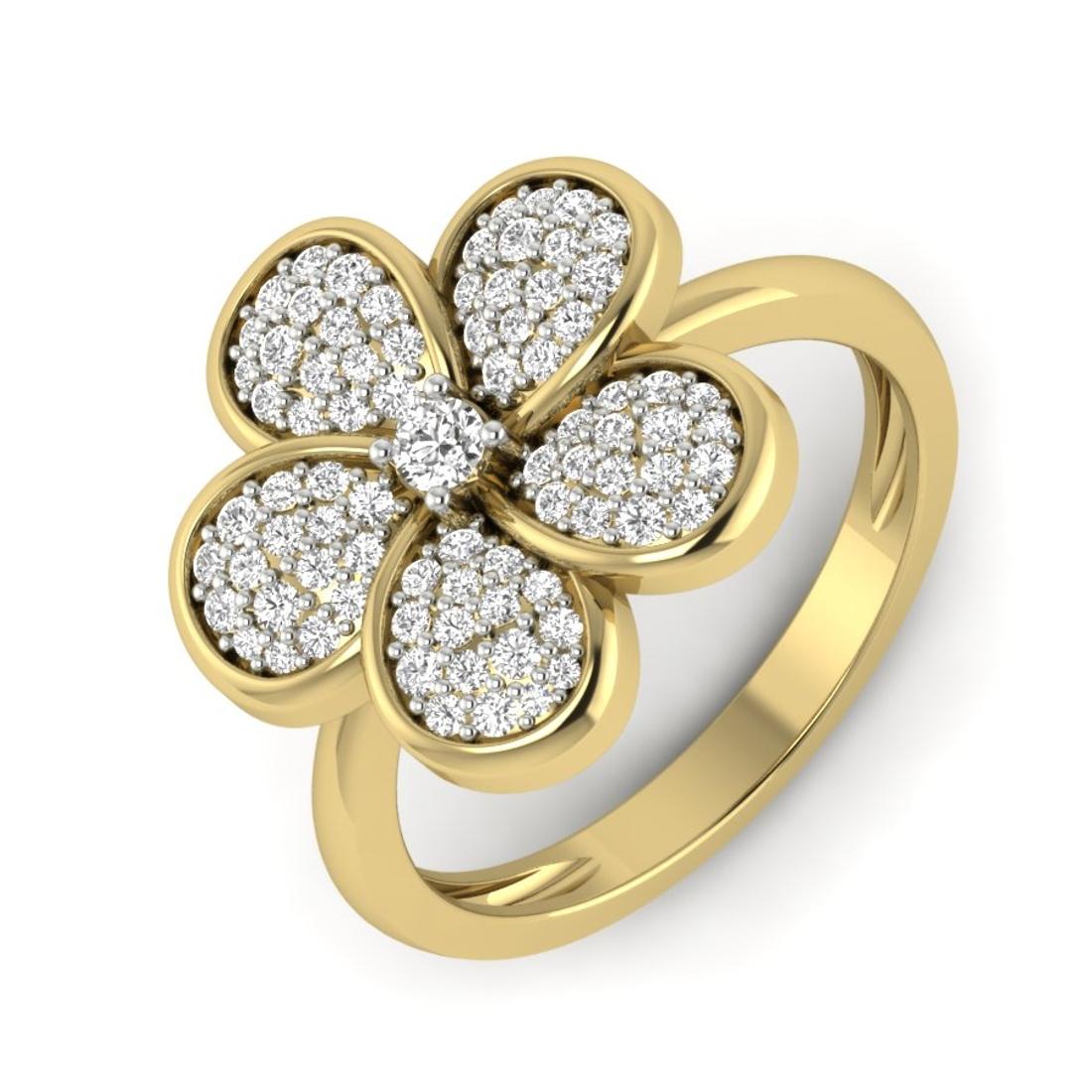 Reena Solitaire Diamond Engagement Ring