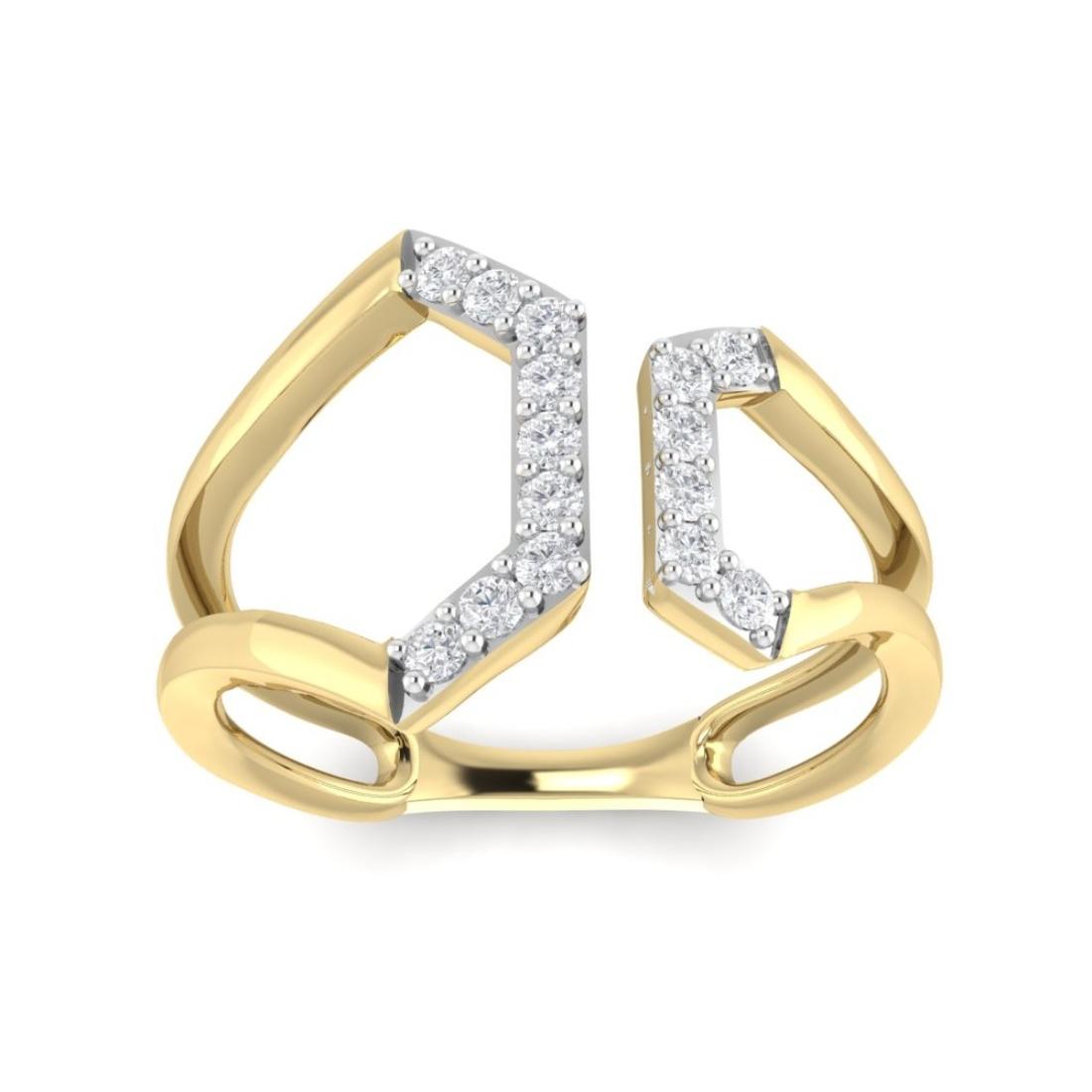 Natural Diamond Studed wedding Ring