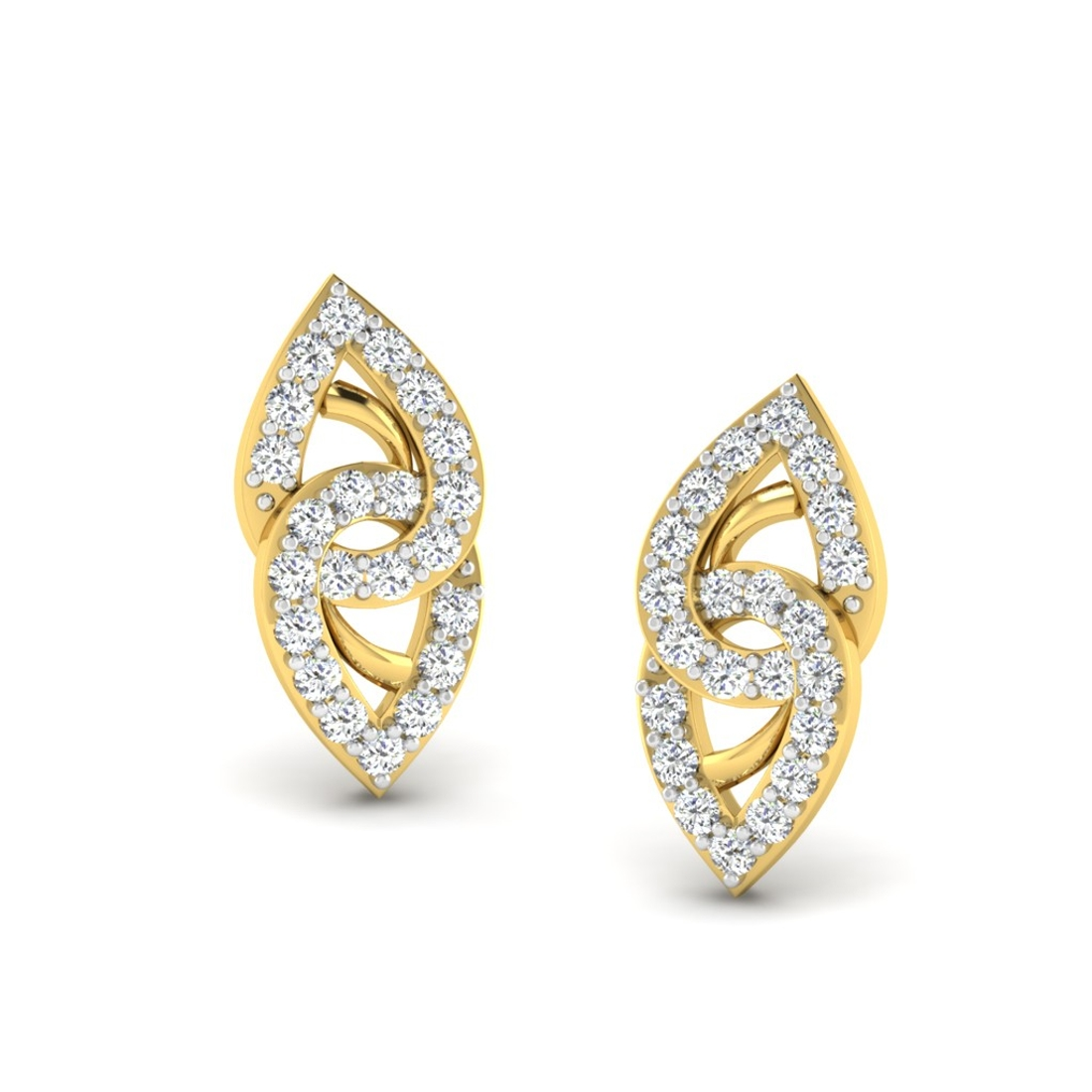 Sarvada Jewels' The Linked Ocular Earrings