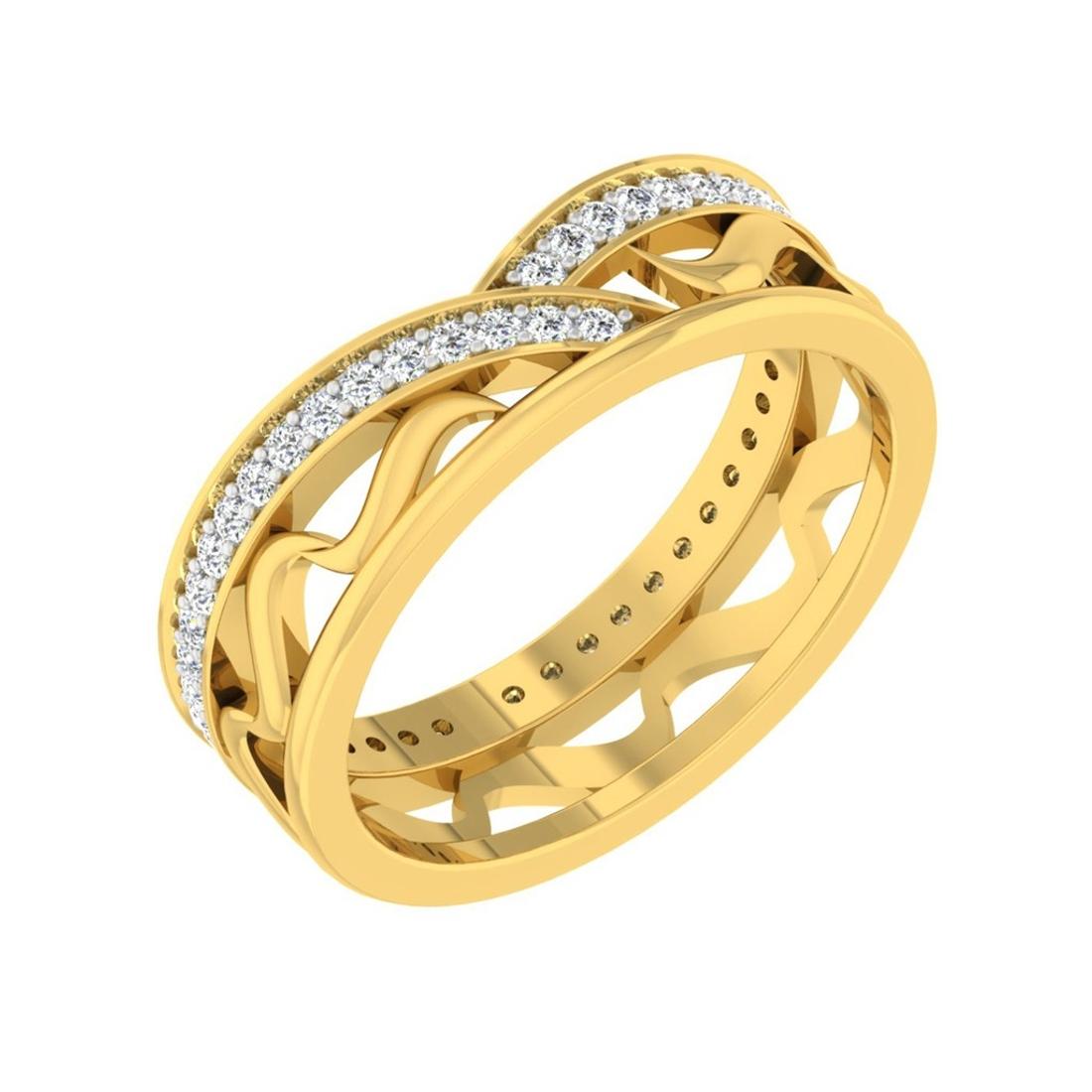 Sarvada Jewels' The Nova Wave Ring