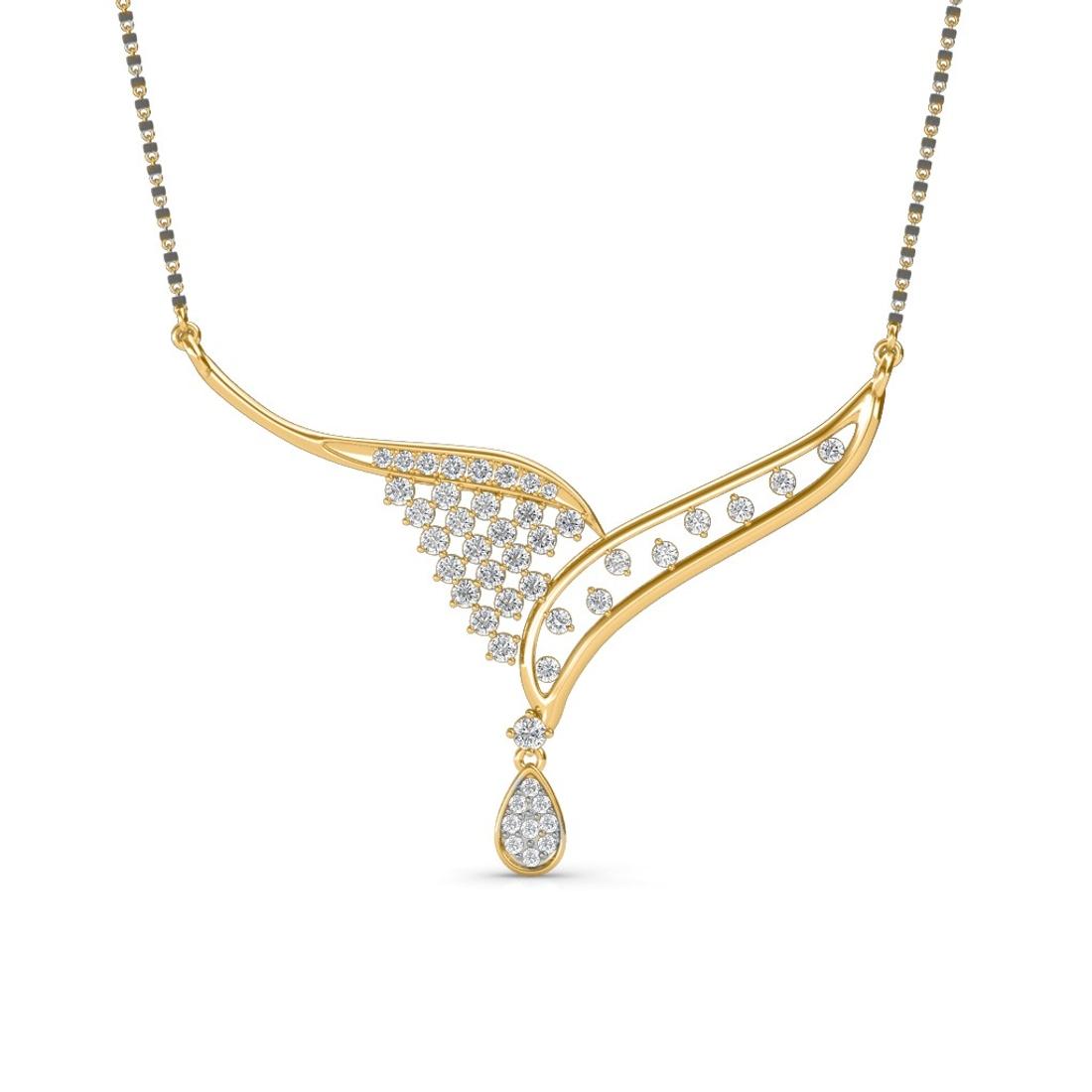 Sarvada Jewels' The Aravinda Mangalsutra