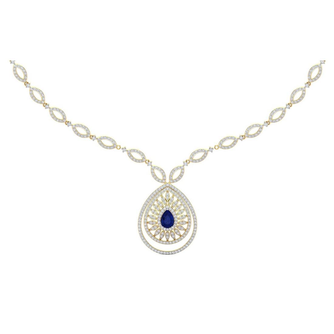 Sarvada Jewels' The Belinda Diamond Necklace
