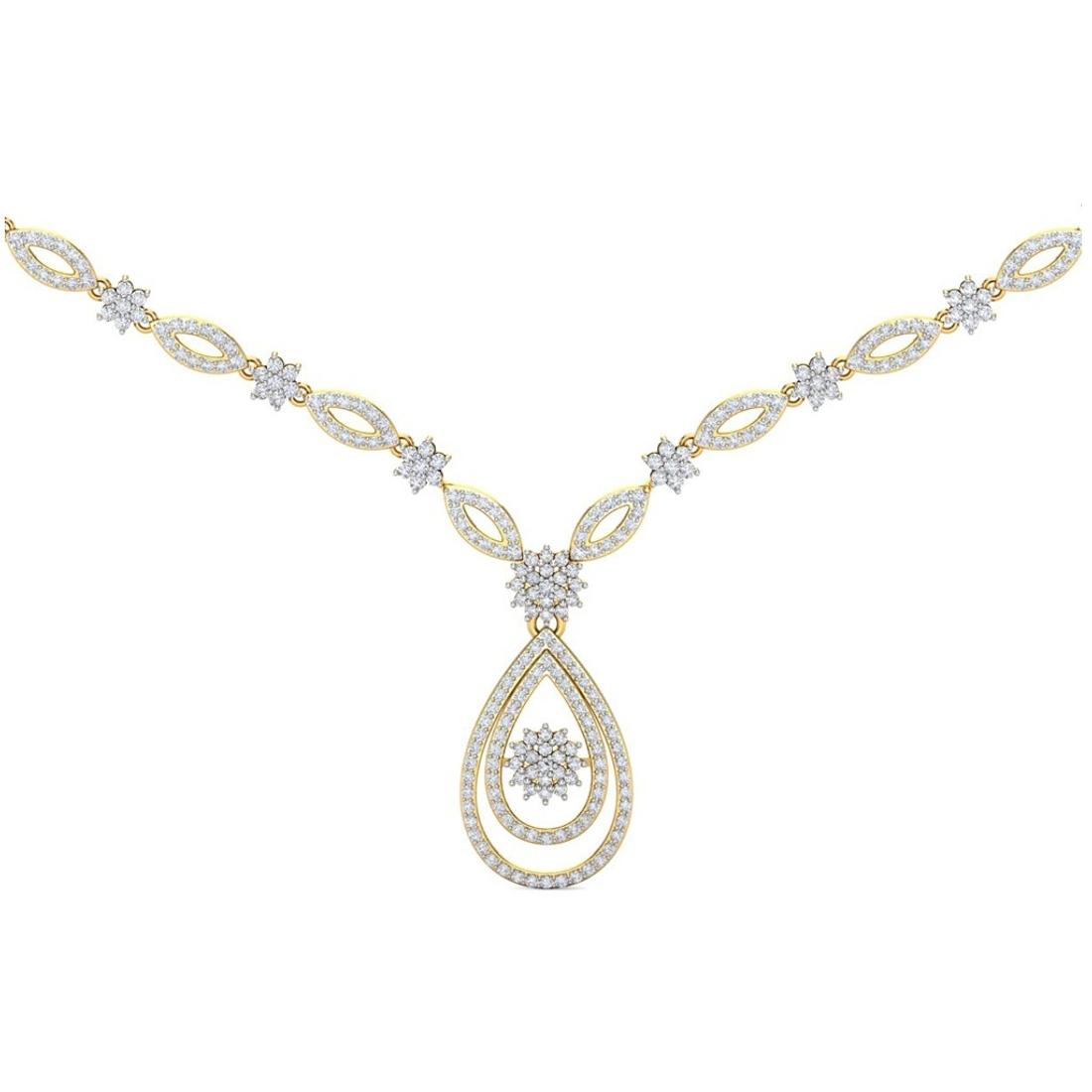 Sarvada Jewels' The Erina Diamond Necklace