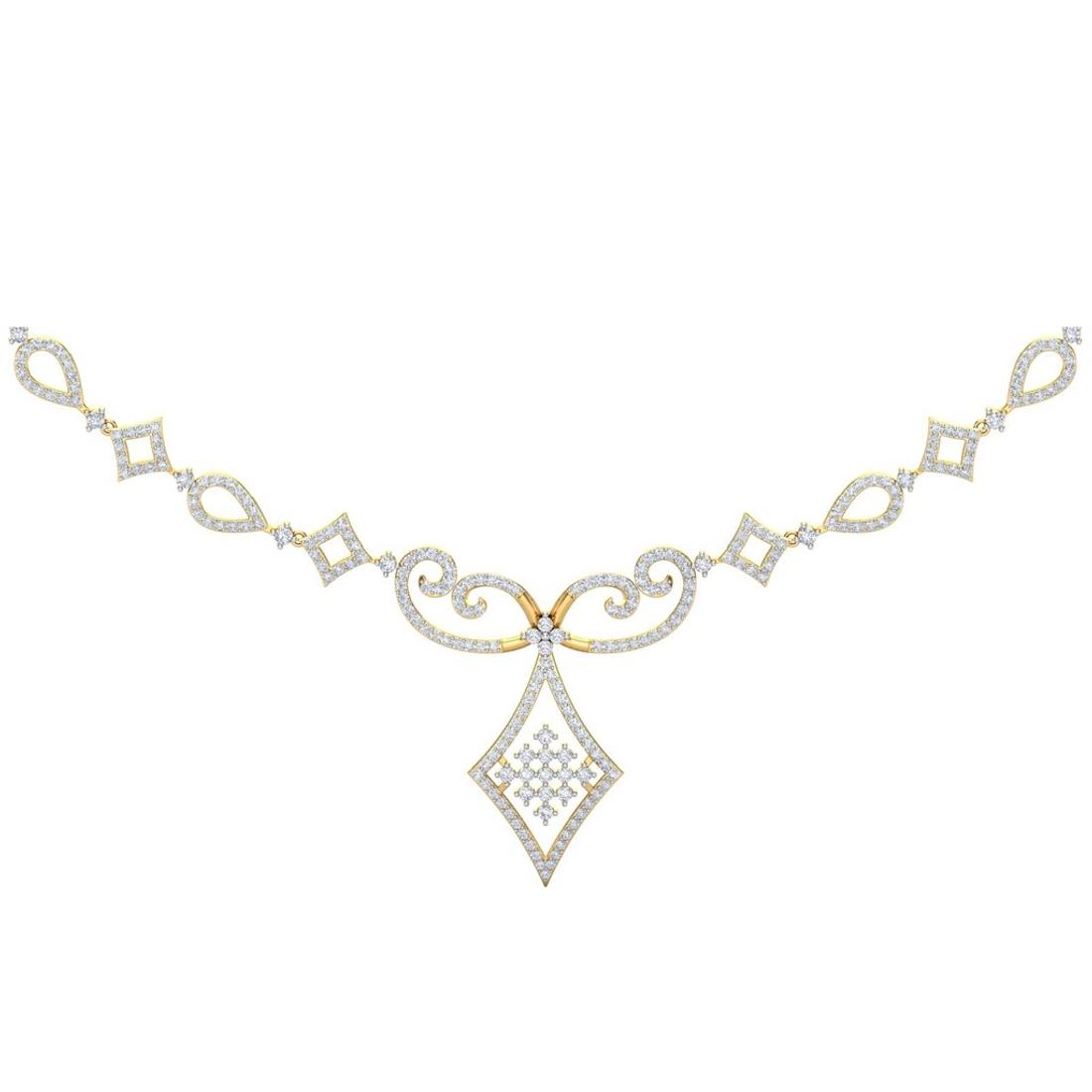 Sarvada Jewels' The Victoria Diamond Necklace