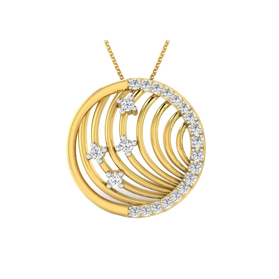 Sarvada Jewels' The Liri Circular Pendant