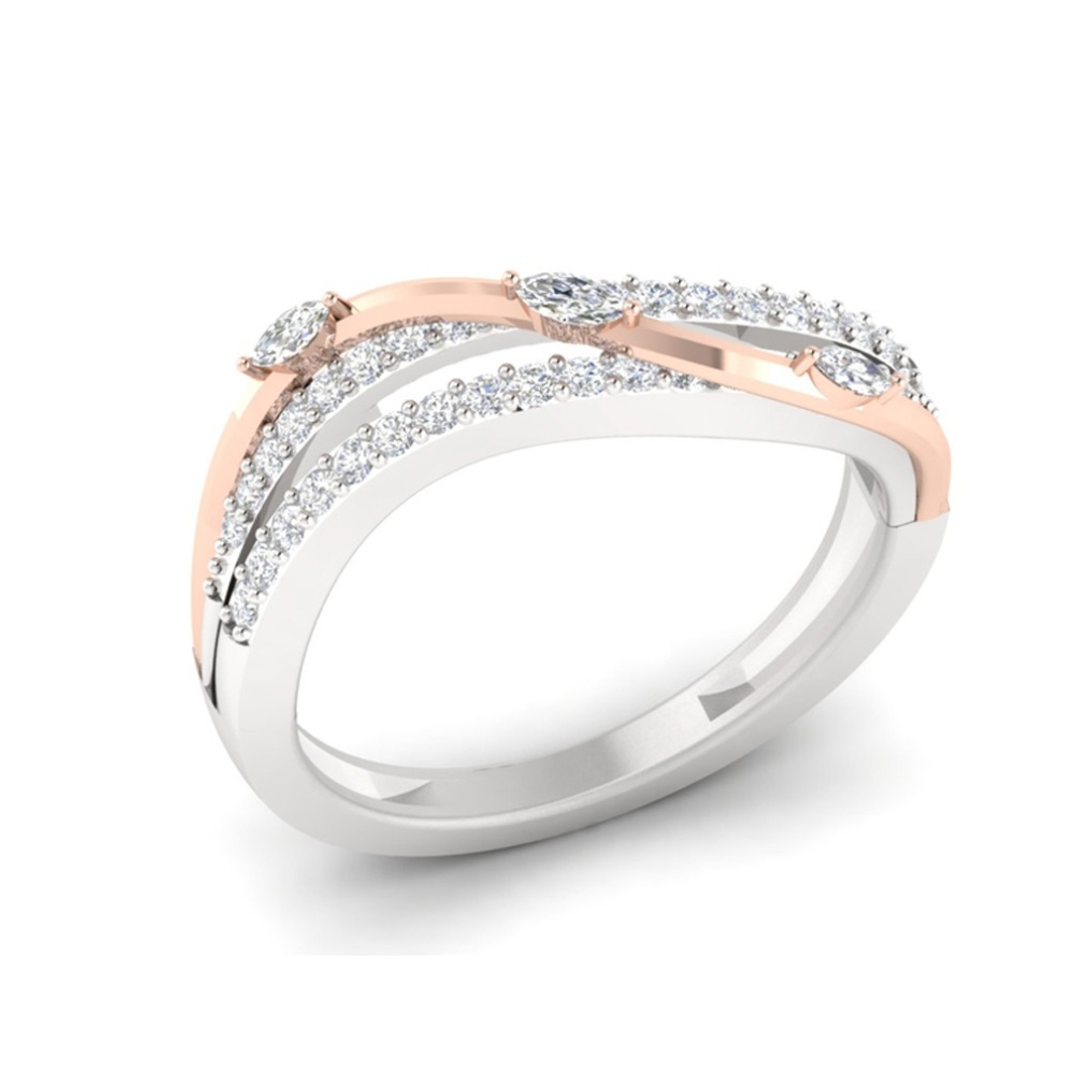 Sarvada Jewels' The Chanelle Love Ring