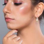 Silver Shine 92.5 Sterling Sterling Silver Flower Earring for Women & Girls