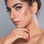 Silver Shine 92.5 Sterling Triangle Drop Silver Earring for Women & Girls