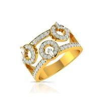 Buy Charu Jewels Diamond Ladies Ring CJLR0104 Online in India