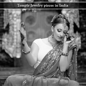Temple Jewelry pieces in India