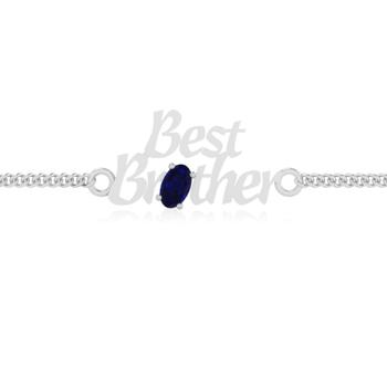 Sylth Brother Blue Sapphire Bracelet