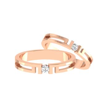 Parshva Jewels' Diamond Couple Band PJ-CB-0073