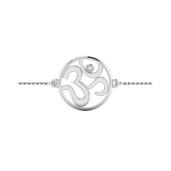 ISKI USKI 925 Silver Rakhi for Brother B-0012WRCSE