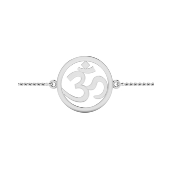 ISKI USKI 925 Silver Rakhi for Brother B-0010WRCSE