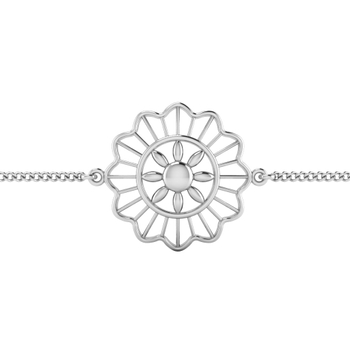 ISKI USKI 925 Silver Rakhi for Brother B-0028WR