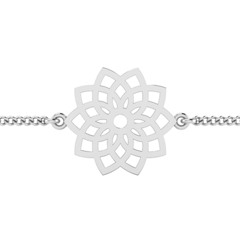 ISKI USKI 925 Silver Rakhi for Brother B-0024WR