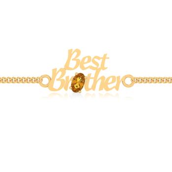 Aarna Brother Yellow Sapphire Bracelet