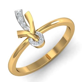 Arkina Diamond's fashionable diamond-gold ring