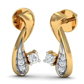 Arkina Diamond's Crafted diamond earring