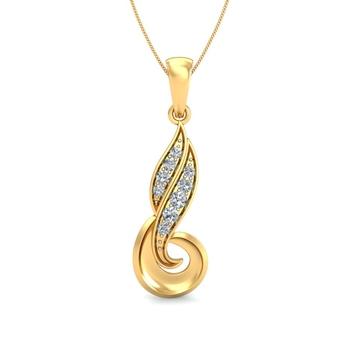 Arkina Diamond's Gold Nectar pendent